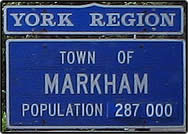 Welcome to the Town of Markham, Ontario